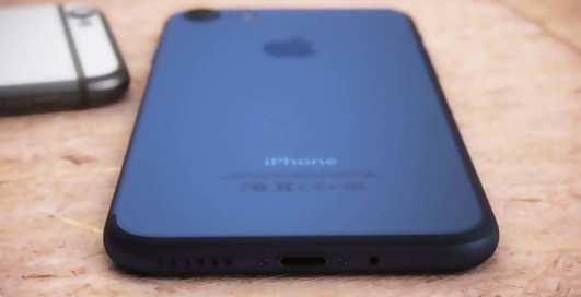 """iPhone 7 """"посинел"""": новый ролик с не вышедшим смартфоном"""