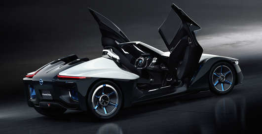 Nissan BladeGlider: треугольный спорткар только для троих