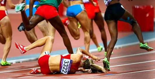 Лицом в асфальт: двадцать смешных олимпийских провалов