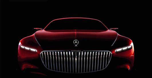 Mercedes и Maybach объединились ради шестиметрового купе
