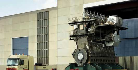 Как выглядит самый большой двигатель на планете