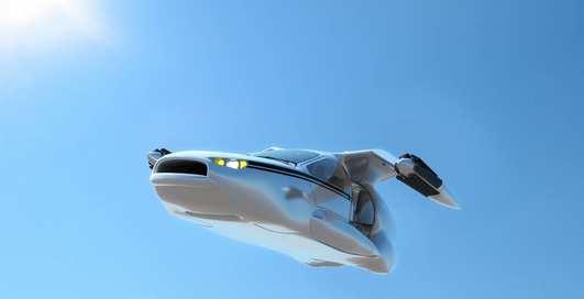 Колеса с крылышками: шеф Google проплатил летающий автомобиль