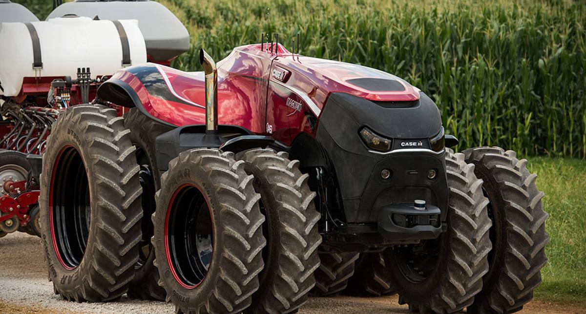 Трактор-дрон: американцы создали тягач с автопилотом