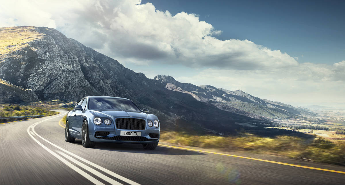 Bentley Flying Spur W12 S: самый шустрый седан компании