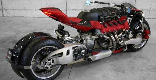 Ludovic Lazareth: байк с именем короля и двигателем Maserati