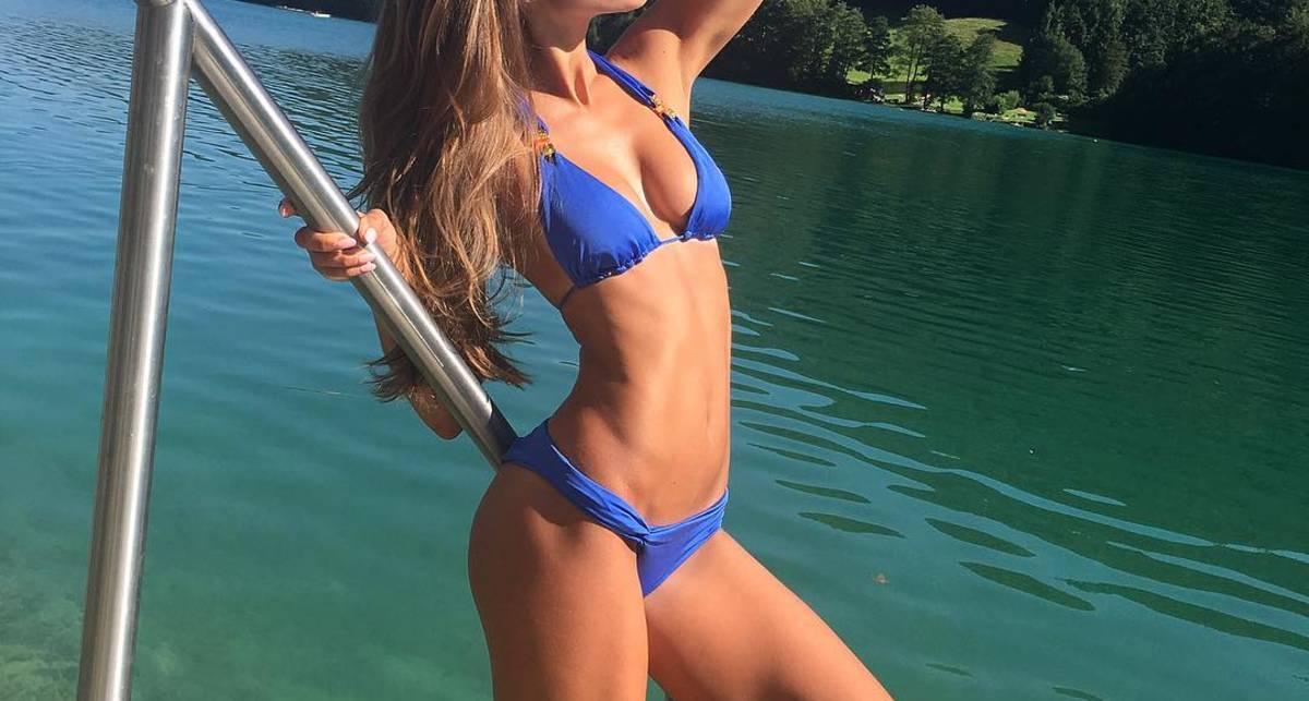 Красотка дня: российская модель Галинка Миргаева