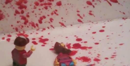 Кровавое Лего: убойные фото конструкторских разборок