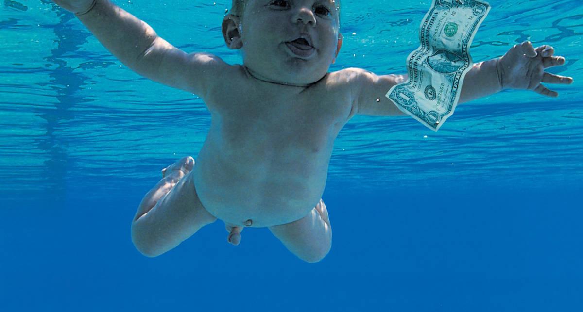 Как выглядит ребенок с обложки альбома Nirvana 25 лет спустя