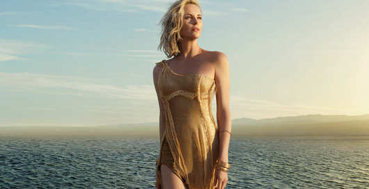 J'Adore Dior сняли Шарлиз Терон ради нового парфюма