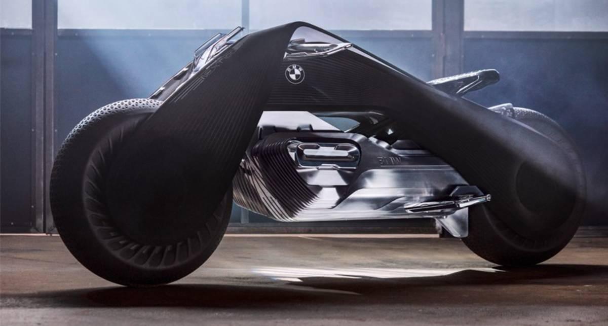 Электробайк BMW: немцы проектируют мотоцикл будущего