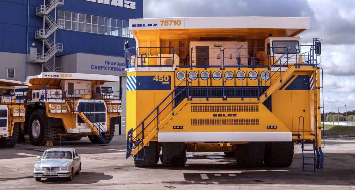 БелАЗ-75710: самый большой самосвал в мире