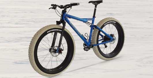 Полноприводный велосипед, способный пересечь всю Антарктиду