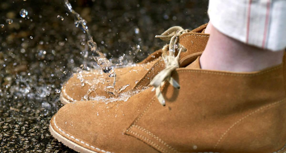 Как сделать любимые туфли водонепроницаемыми