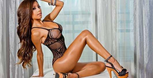 Красотка дня: фитнес-модель Дженна Шарлетт