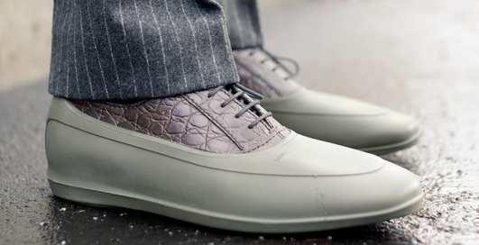 Шузы для луж: 10 непромокаемых пар обуви