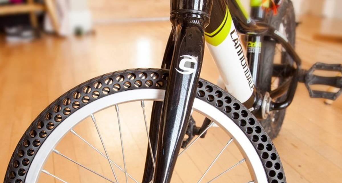 Велосипедная покрышка, которая никогда не проколется
