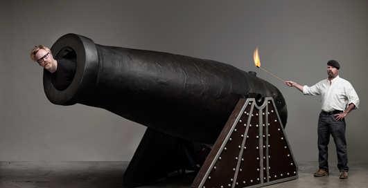 Можно ли за ночь построить средневековую  пушку