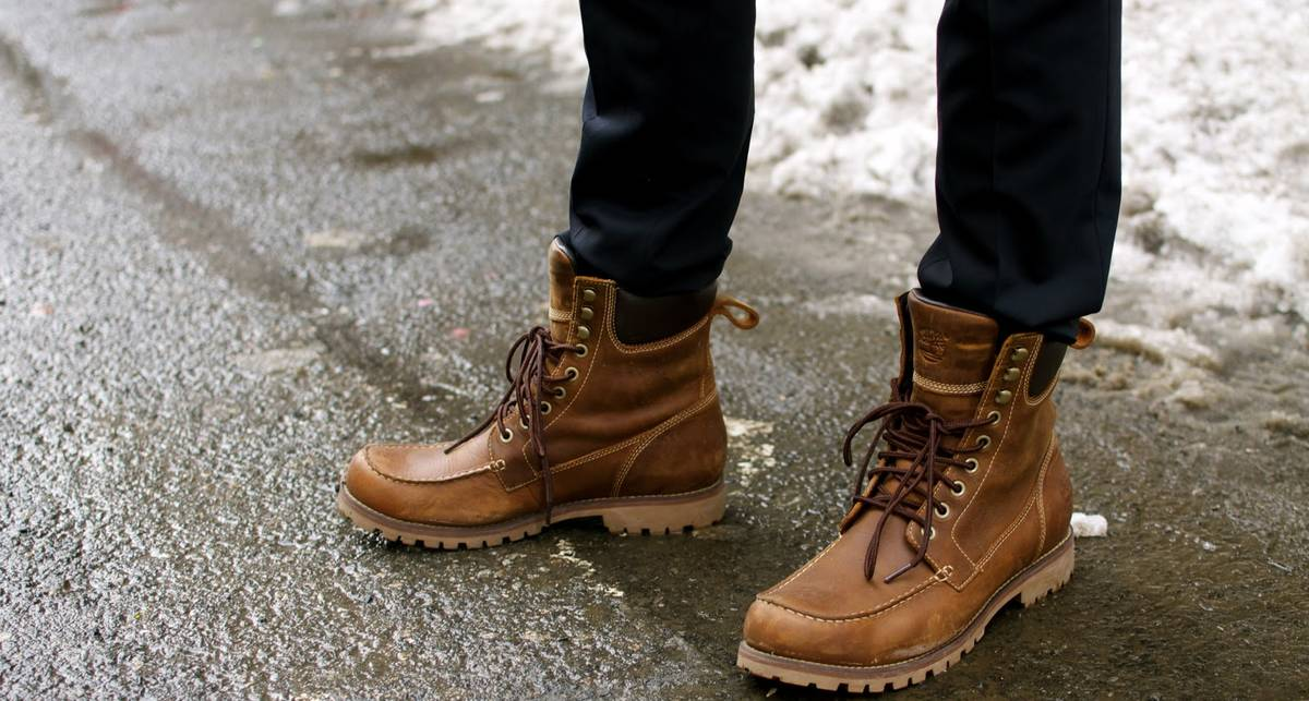 Зимняя мужская обувь 2016