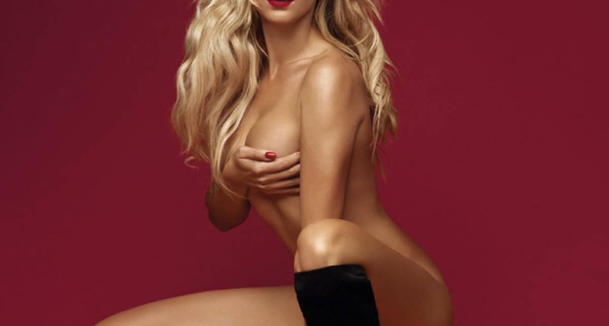 Огонь: обнаженная Леся Никитюк на обложке XXL
