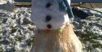 Брутальные снеговики: 30 фото снежных чудовищ