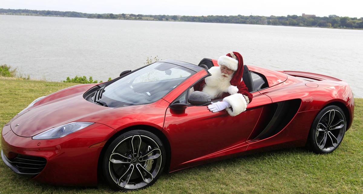 Если бы Санта вместо оленей катался на авто
