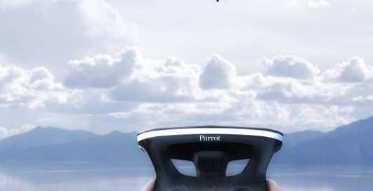 Квадрокоптер Parrot Bebop 2 приобрел возможности летающего папарацци