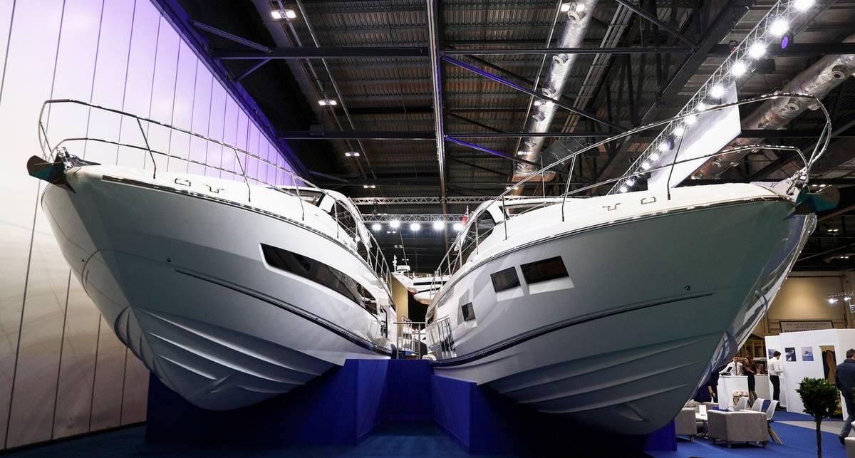 Лодочное шоу 2017: самые красивые яхты выставки