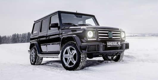 Вот это Гелик: пять убойных модификаций Mercedes-Benz G-класс