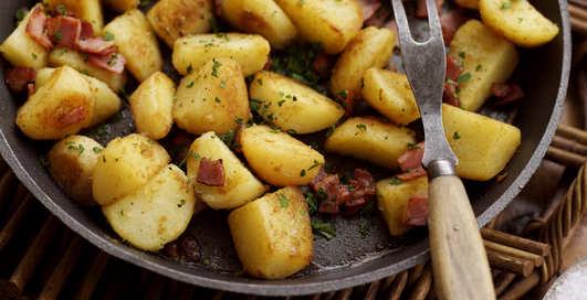Жареная картошка больна раком — ученые