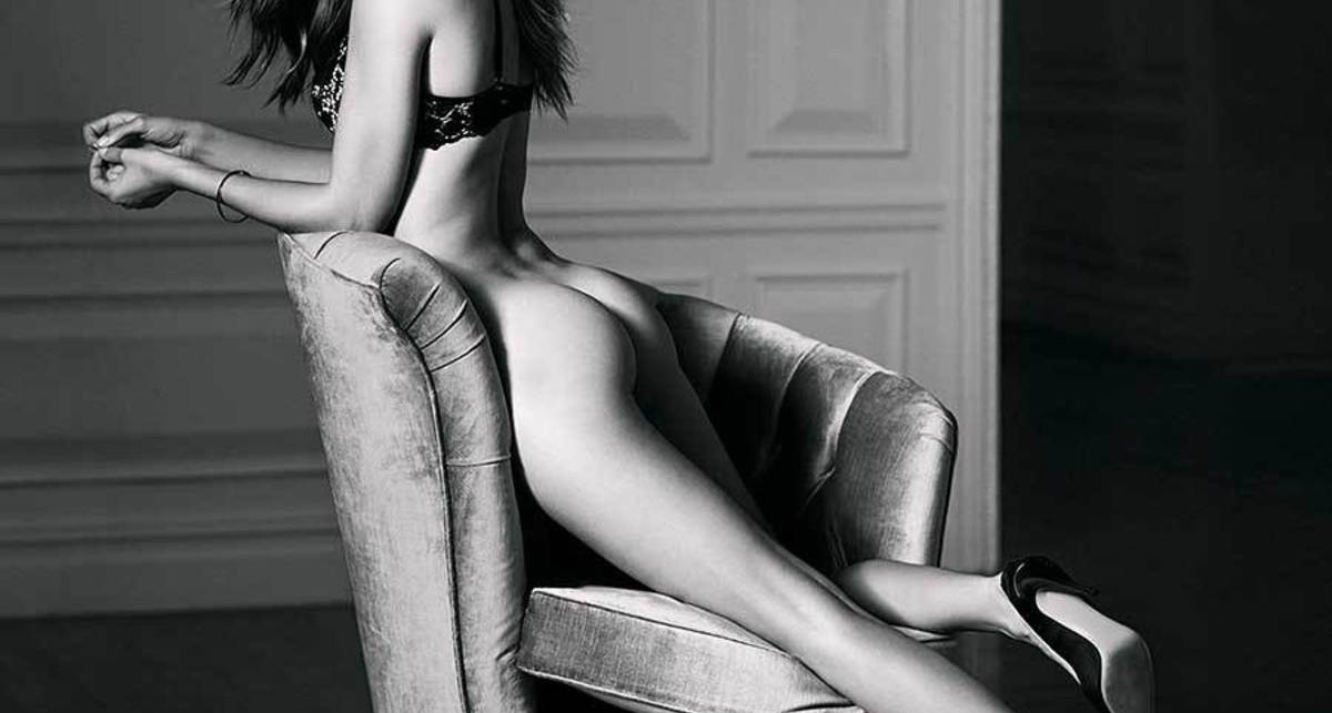 Жозефин Скривер: эротическая фотосессия ко Дню святого Валентина