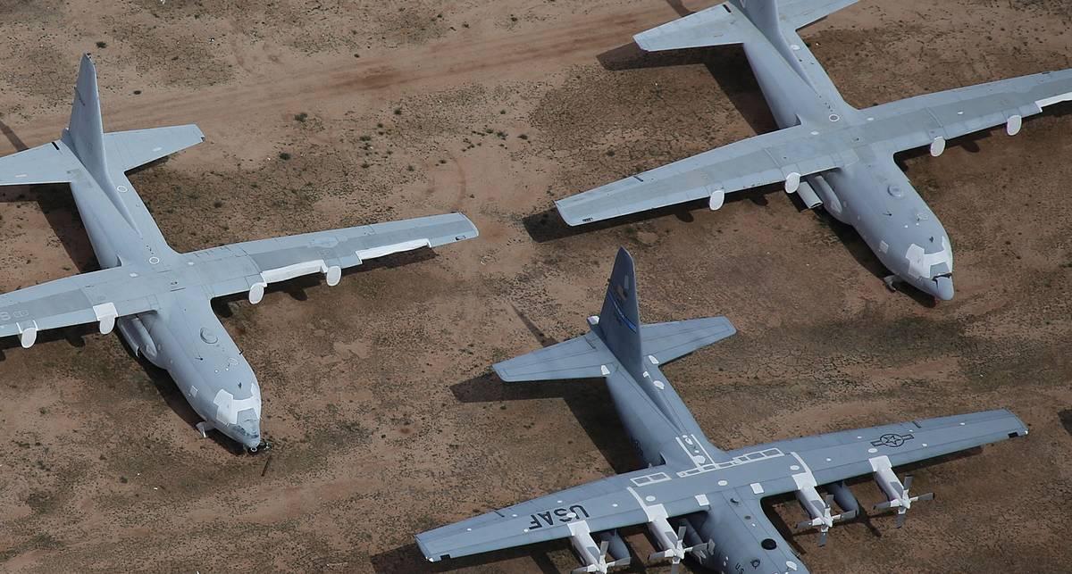 Авиагниль: как выглядит крупнейшее в мире кладбище самолетов