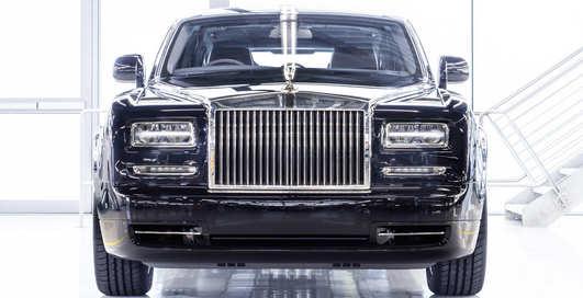 Rolls-Royce, до свиданья: британцы выпустили прощальный Phantom