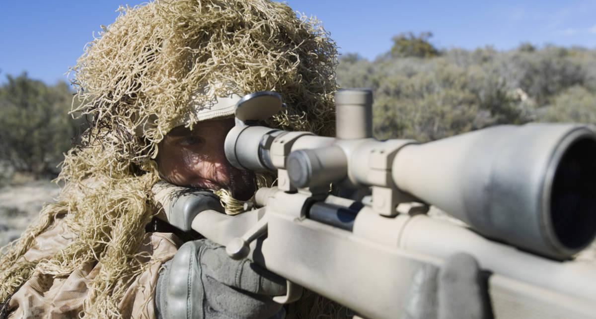 Палят профи: самые дальние выстрелы снайперов