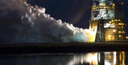 Быстрее 1000 км / час: видео испытаний крутейшего ракетного двигателя