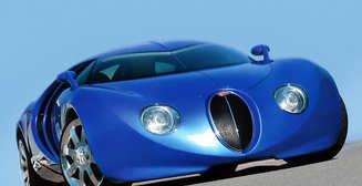 Bugatti Veyron и Ко: концепты, которым с дизайном не повезло
