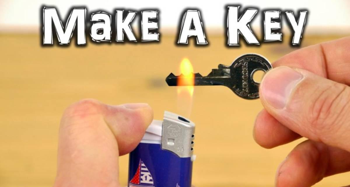 Лайфхак: как сделать запасной ключ своими руками