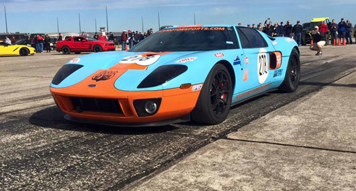 470 км / час за 1,6 км: Ford GT порвал старый рекорд скорости