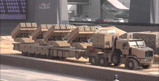 240 ракет за 2 минуты: арабы построили ракетный пулемет