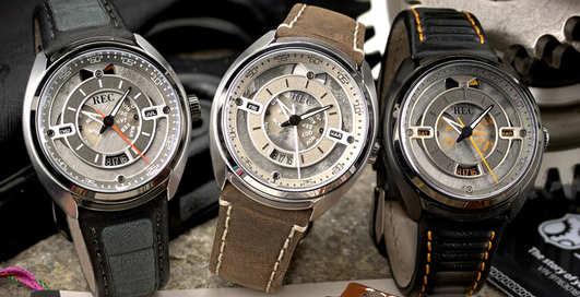 REC 901: созданы часы из убитых Porsche 911