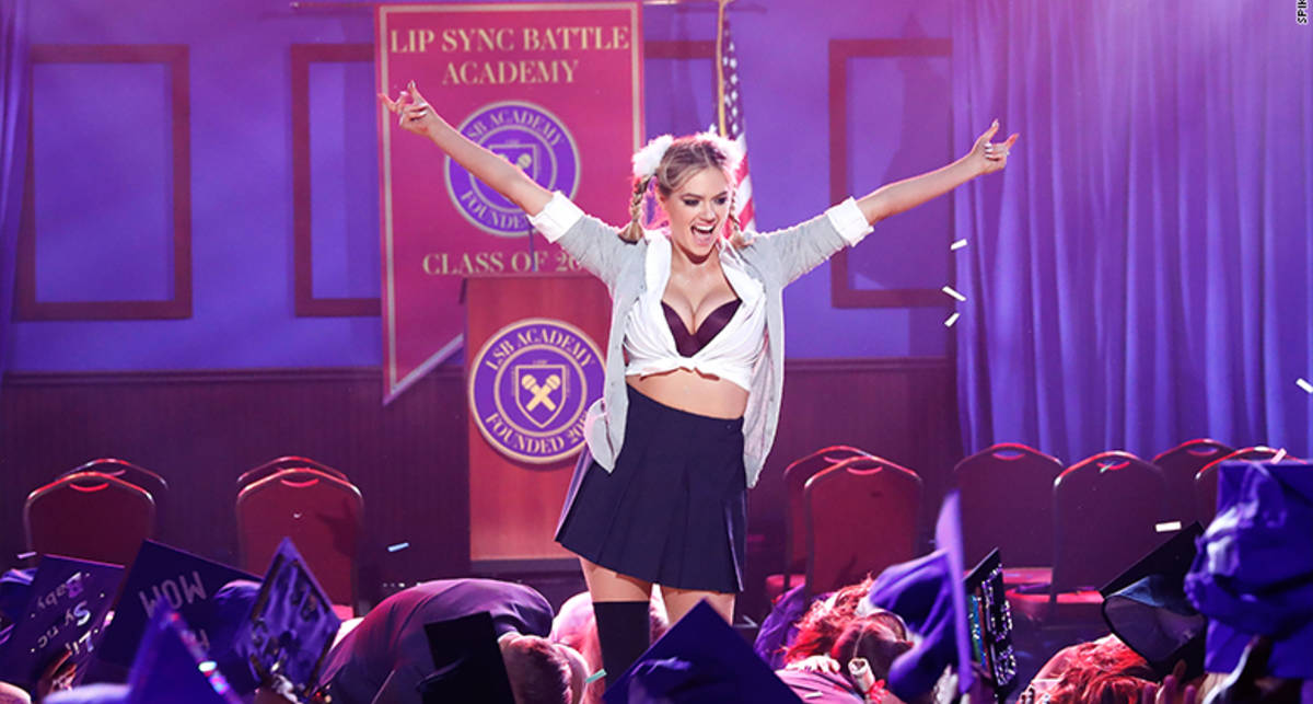 Кейт Аптон: сексуальная пародия на Бритни Спирс