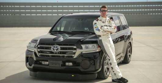 2000-сильный Toyota Land Cruiser порвал всех новым рекордом