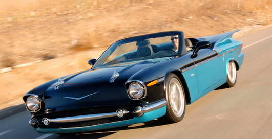 n2a Motors 789: ретрокар, сваренный из коллекции Corvette