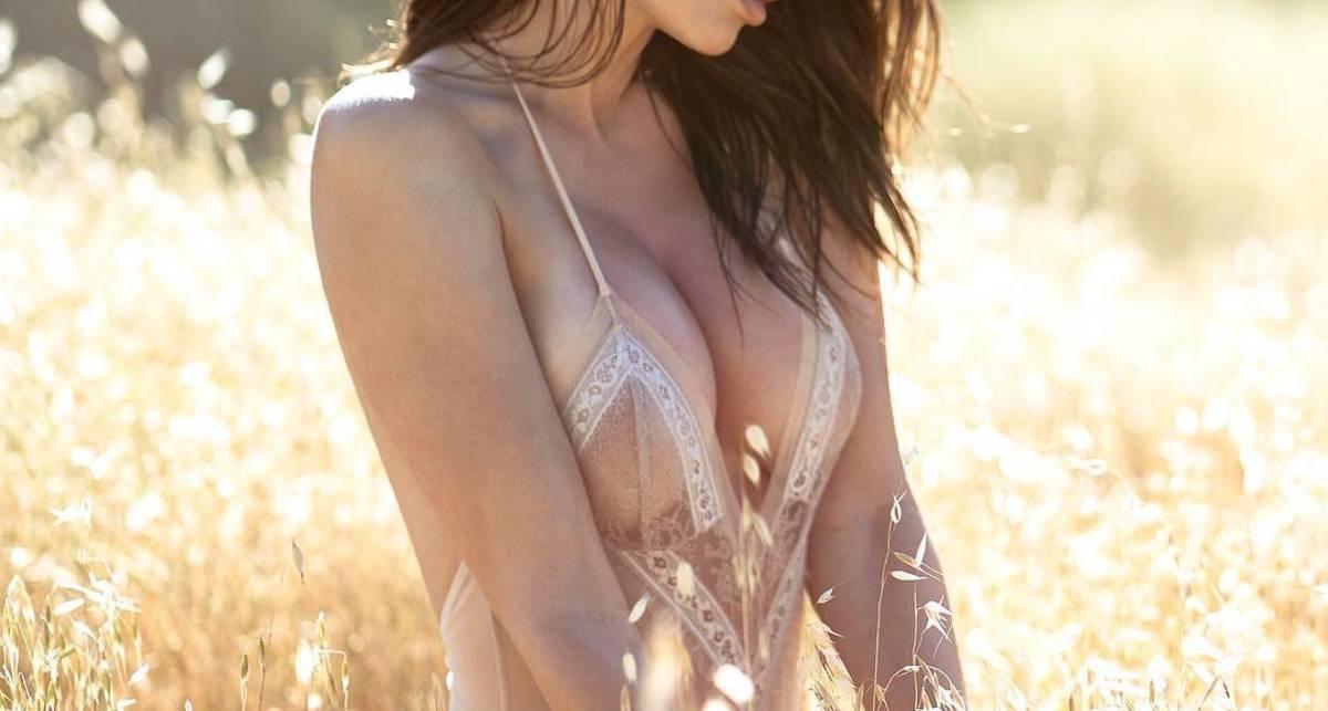 Красотка дня: латвийская модель Юлия Лескова