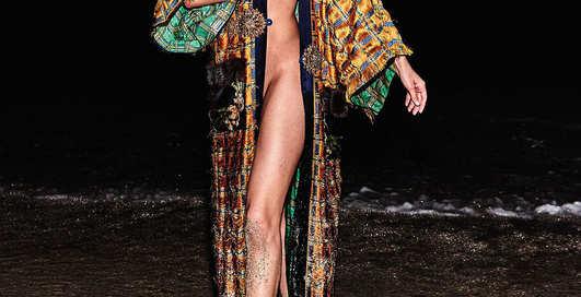 Легендарная модель разделась для украинского Vogue
