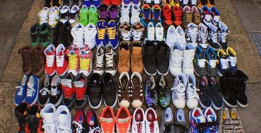 Самые крутые коллекции кроссовок из Instagram