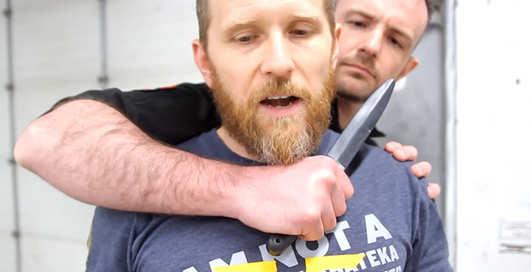 Нож у горла: урок убойной самозащиты