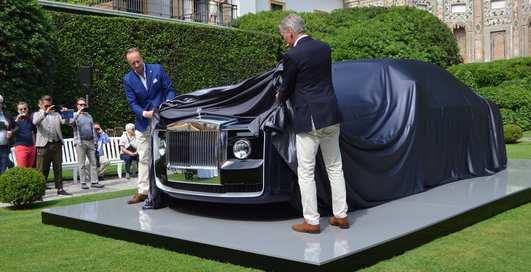Rolls-Royce Sweptail: уникальное купе за $13 миллионов