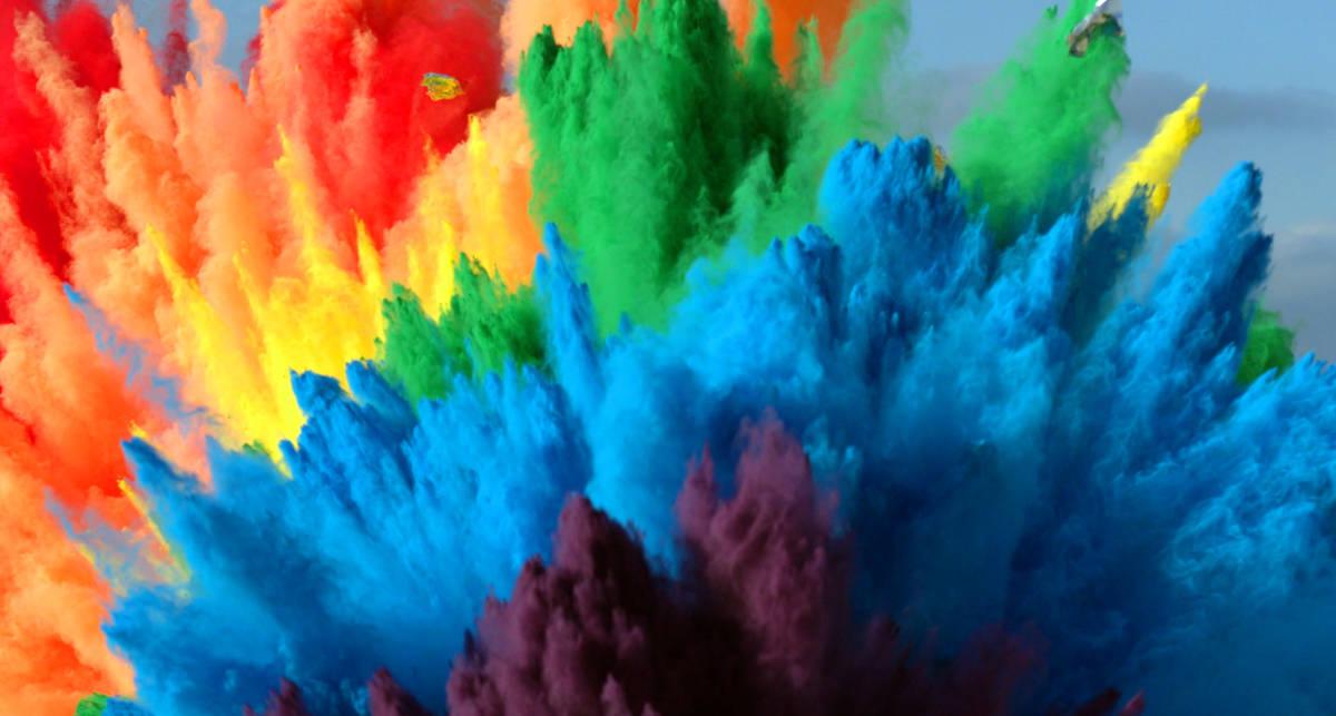Можно ли покрасить комнату, взорвав динамит в ведре с краской