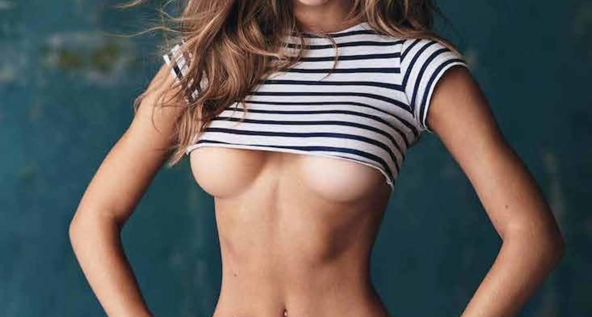 20-летняя секс-бомба на обложке августовского Maxim