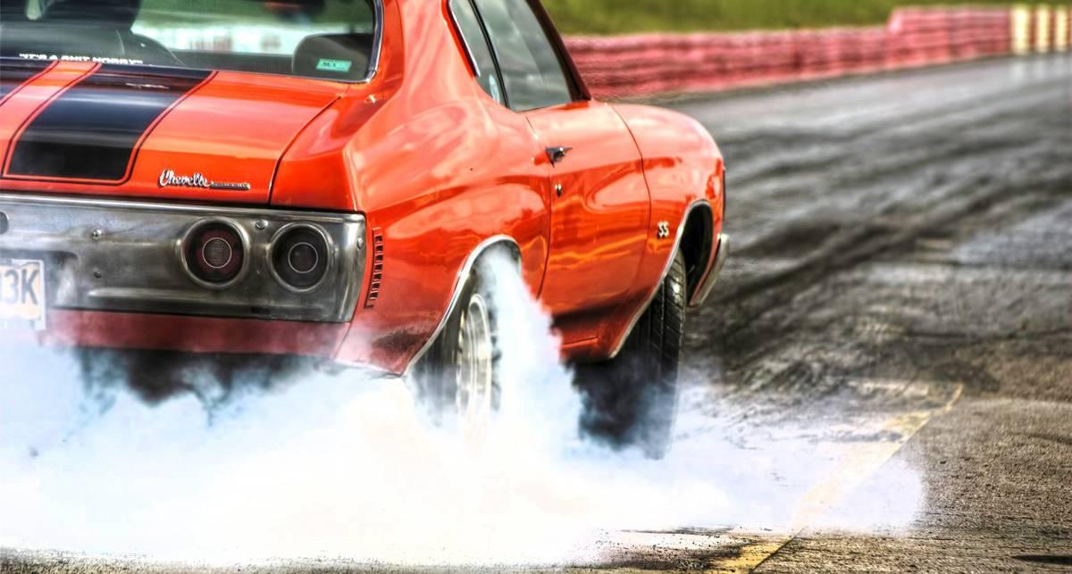 Может ли шина загореться от пробуксовки?